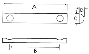 HRD Pad Dimensions Diagram