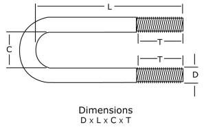 Long Tangent U-Bolts Fig. 137
